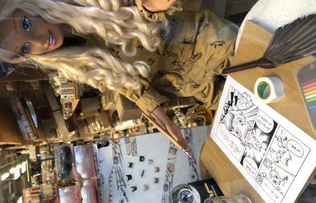 豊富な画材、お洒落&可愛い文具が揃ったお店