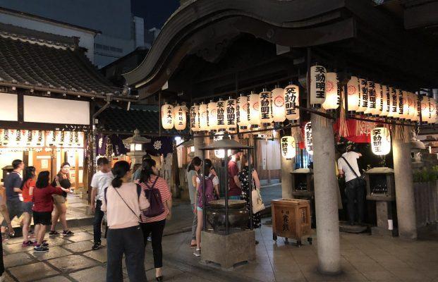 Hozenji Temple(Mizukake Fudo-son)