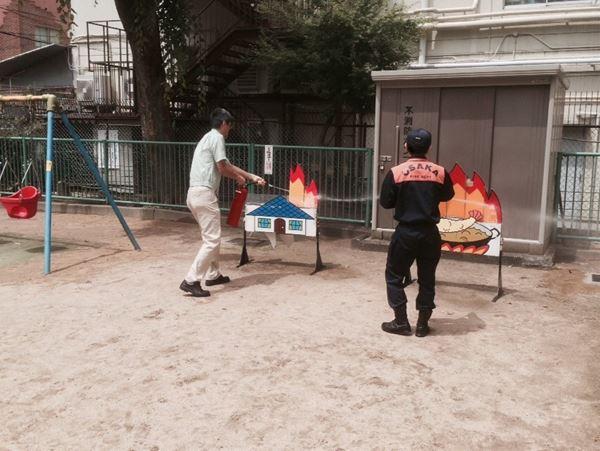 消防訓練写真4